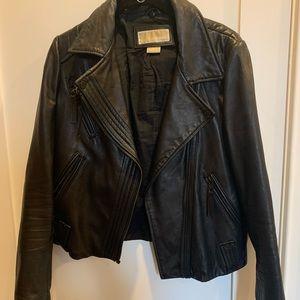 Classic Michael Kors moto jacket